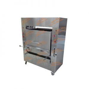 کباب پز کشویی و ریلی با گرمایش برقی و تنظیم ارتفاع